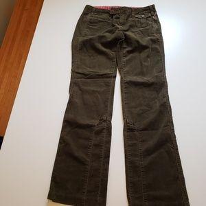 G1 Green Corduroy Pants  size 4